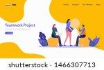 teamwork vector illustration...