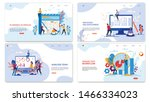 advertising flyer inscription ... | Shutterstock .eps vector #1466334023