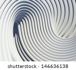 modern architectural shapes... | Shutterstock . vector #146636138
