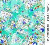 watercolor seamless texture... | Shutterstock . vector #1466470040