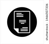 sheet icon  document icon ... | Shutterstock .eps vector #1466507336