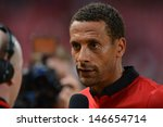Постер, плакат: Captain Rio Ferdinand of