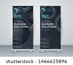 business roll up. standee... | Shutterstock .eps vector #1466625896