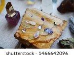 meditation grid kit. quartz... | Shutterstock . vector #1466642096