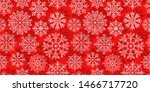decorative snowflakes  seamless ... | Shutterstock .eps vector #1466717720