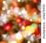 Festive Christmas Background Of ...