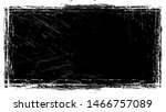 dry brush strokes and scratches ... | Shutterstock .eps vector #1466757089