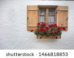 Nice Small Wooden Window With...