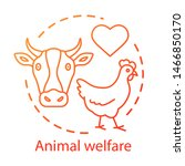 animal welfare  shelter concept ... | Shutterstock .eps vector #1466850170