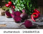 Fresh Homegrown Beetroots Herb...