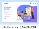 business school vector  speaker ... | Shutterstock .eps vector #1467005210
