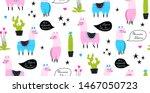 call me llama  says llama.... | Shutterstock .eps vector #1467050723