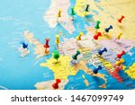 On The Map Of Europe  The...