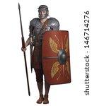 Legionary Soldier Of The Roman...