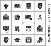 education line icons. set of... | Shutterstock .eps vector #1467158846