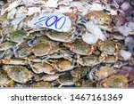 Crabs For Sale On Khlong Toei...