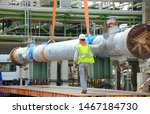 rigger construction worker...   Shutterstock . vector #1467184730