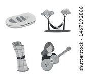 vector design of recreation and ... | Shutterstock .eps vector #1467192866
