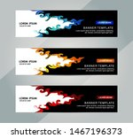 banner  header template. vector ... | Shutterstock .eps vector #1467196373