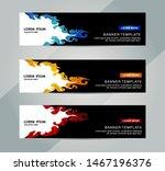banner  header template. vector ... | Shutterstock .eps vector #1467196376