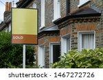 Estate Agent 'sold' Sign...