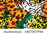Animal Skin Print Leopard ...