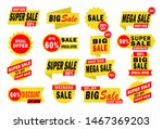 sale banner template design... | Shutterstock .eps vector #1467369203