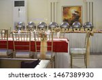 decorated wedding banquet hall... | Shutterstock . vector #1467389930