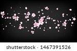 nice sakura blossom isolated...   Shutterstock .eps vector #1467391526