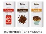set of cardboard boxes for...   Shutterstock .eps vector #1467430046