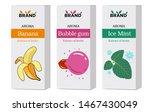 set of cardboard boxes for...   Shutterstock .eps vector #1467430049