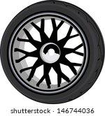 wheel   Shutterstock .eps vector #146744036