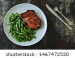 Keto Lunch Or Dinner. Green...