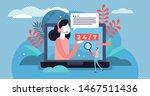online support vector...   Shutterstock .eps vector #1467511436