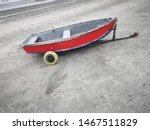 A Rowing Boat Used As A Tender...