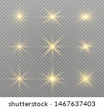 yellow glowing light explodes... | Shutterstock .eps vector #1467637403