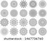 Floral Mandala Vector Pack Of...