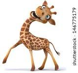 Stock photo fun giraffe 146775179