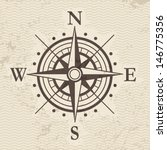 wind rose | Shutterstock .eps vector #146775356