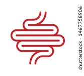 human digestion tract icon... | Shutterstock .eps vector #1467758906