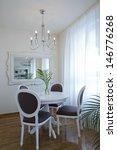 dinning room interior | Shutterstock . vector #146776268