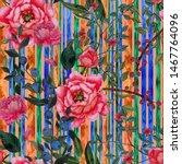 watercolor seamless pattern...   Shutterstock . vector #1467764096