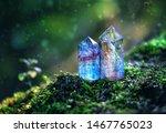 gemstones crystal minerals on... | Shutterstock . vector #1467765023
