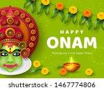 onam festival background for... | Shutterstock .eps vector #1467774806