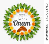 onam festival background for... | Shutterstock .eps vector #1467775760
