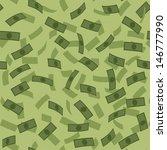 vector money rain pattern | Shutterstock .eps vector #146777990