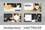 trendy editable set horizontal... | Shutterstock .eps vector #1467790139