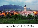 terchova village at dusk  ... | Shutterstock . vector #146781839
