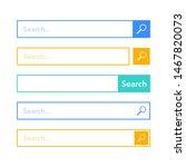 search bar element design  set...