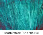 Beauty Blue Feather Background